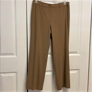 Ann Taylor Lined Dress Pants Size 10P Tan